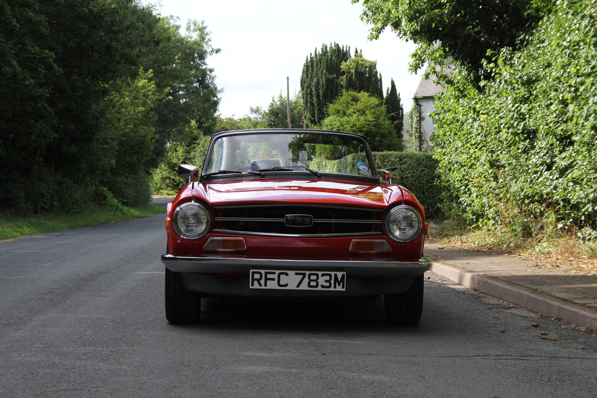 1974 Triumph TR6 PI - UK car, Overdrive, Engine rebuild For Sale (picture 2 of 19)