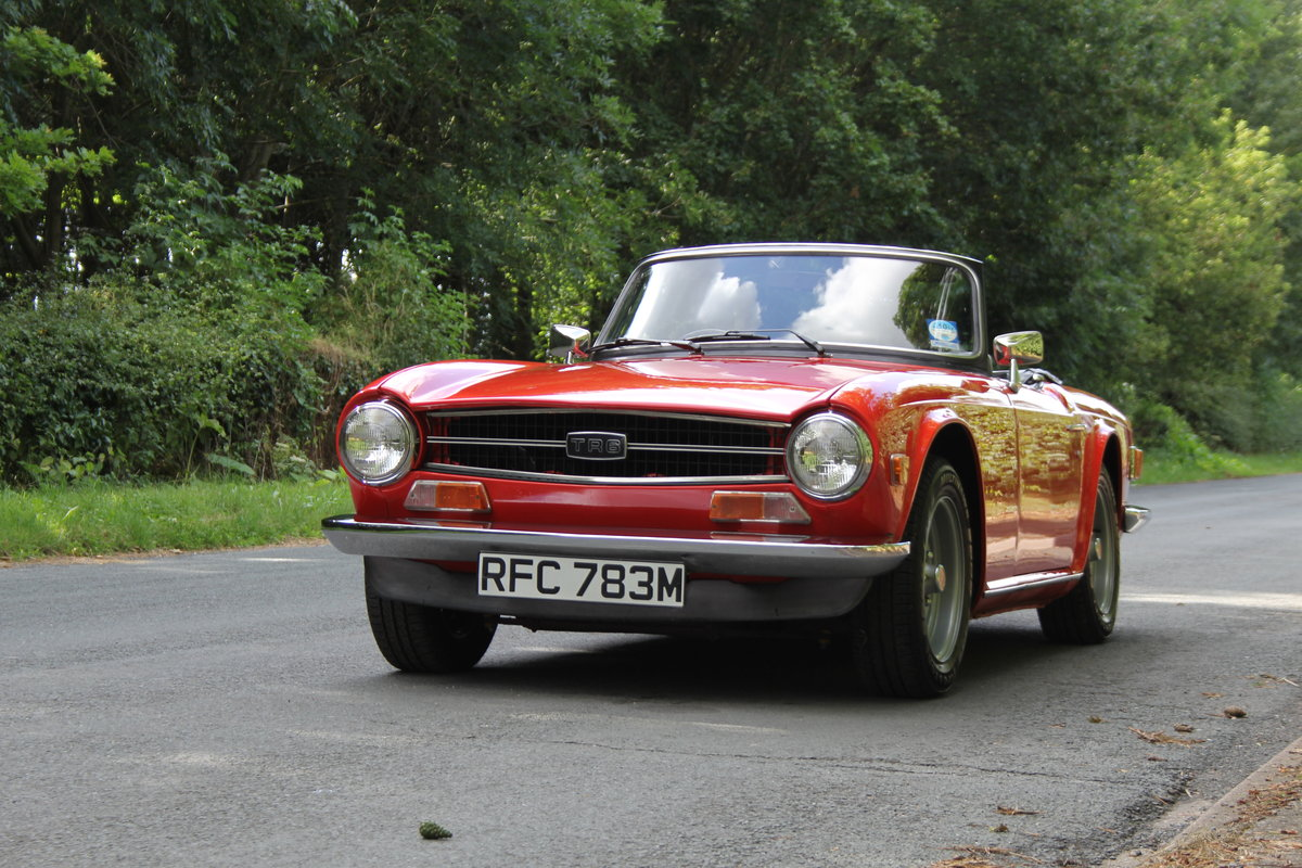 1974 Triumph TR6 PI - UK car, Overdrive, Engine rebuild For Sale (picture 3 of 19)