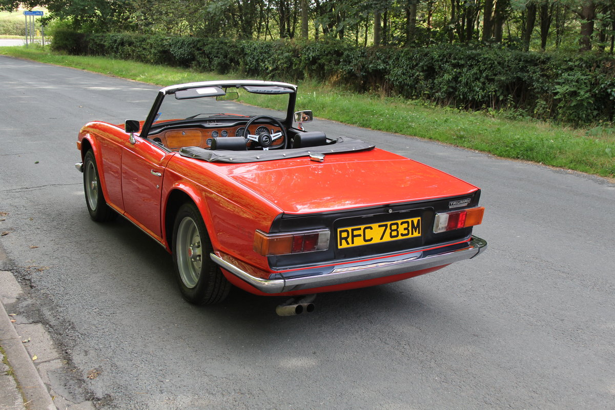 1974 Triumph TR6 PI - UK car, Overdrive, Engine rebuild For Sale (picture 4 of 19)