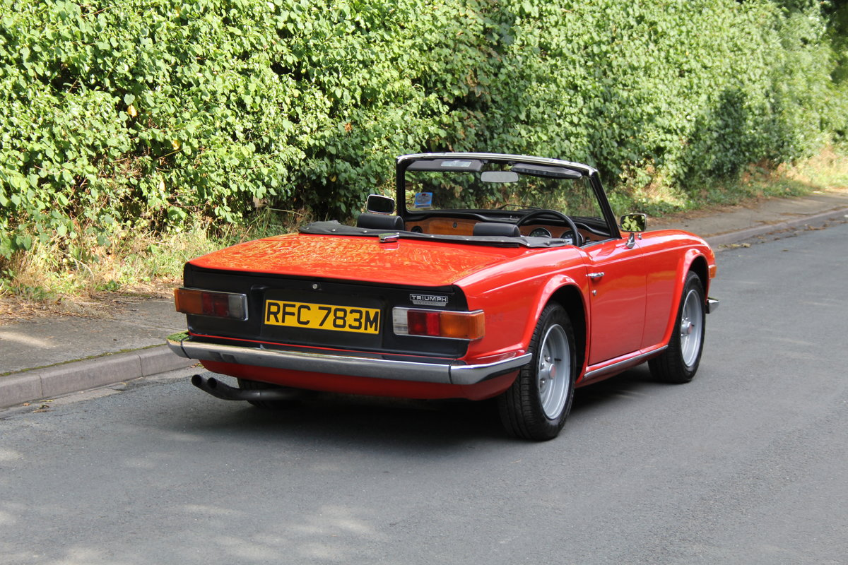 1974 Triumph TR6 PI - UK car, Overdrive, Engine rebuild For Sale (picture 6 of 19)
