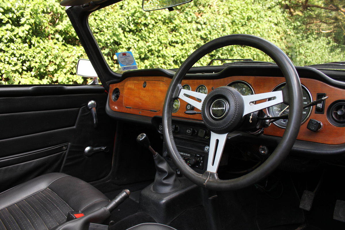 1974 Triumph TR6 PI - UK car, Overdrive, Engine rebuild For Sale (picture 7 of 19)