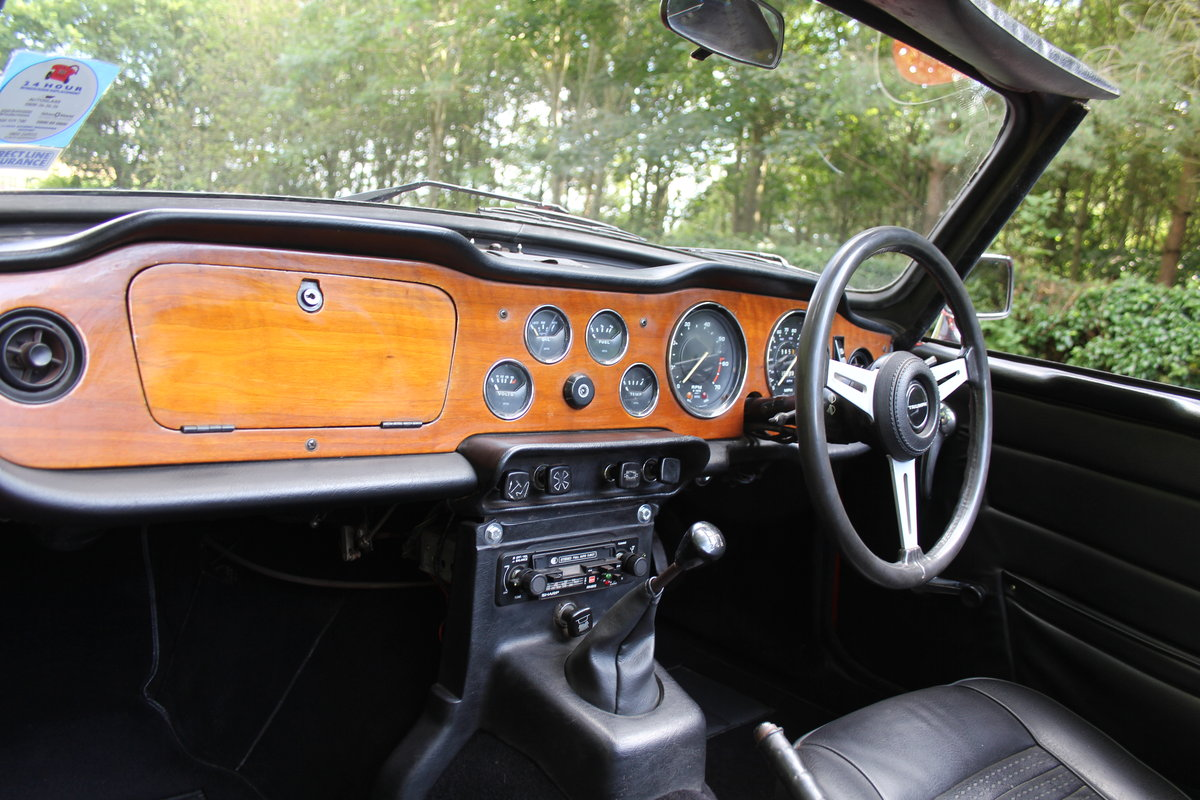 1974 Triumph TR6 PI - UK car, Overdrive, Engine rebuild For Sale (picture 10 of 19)