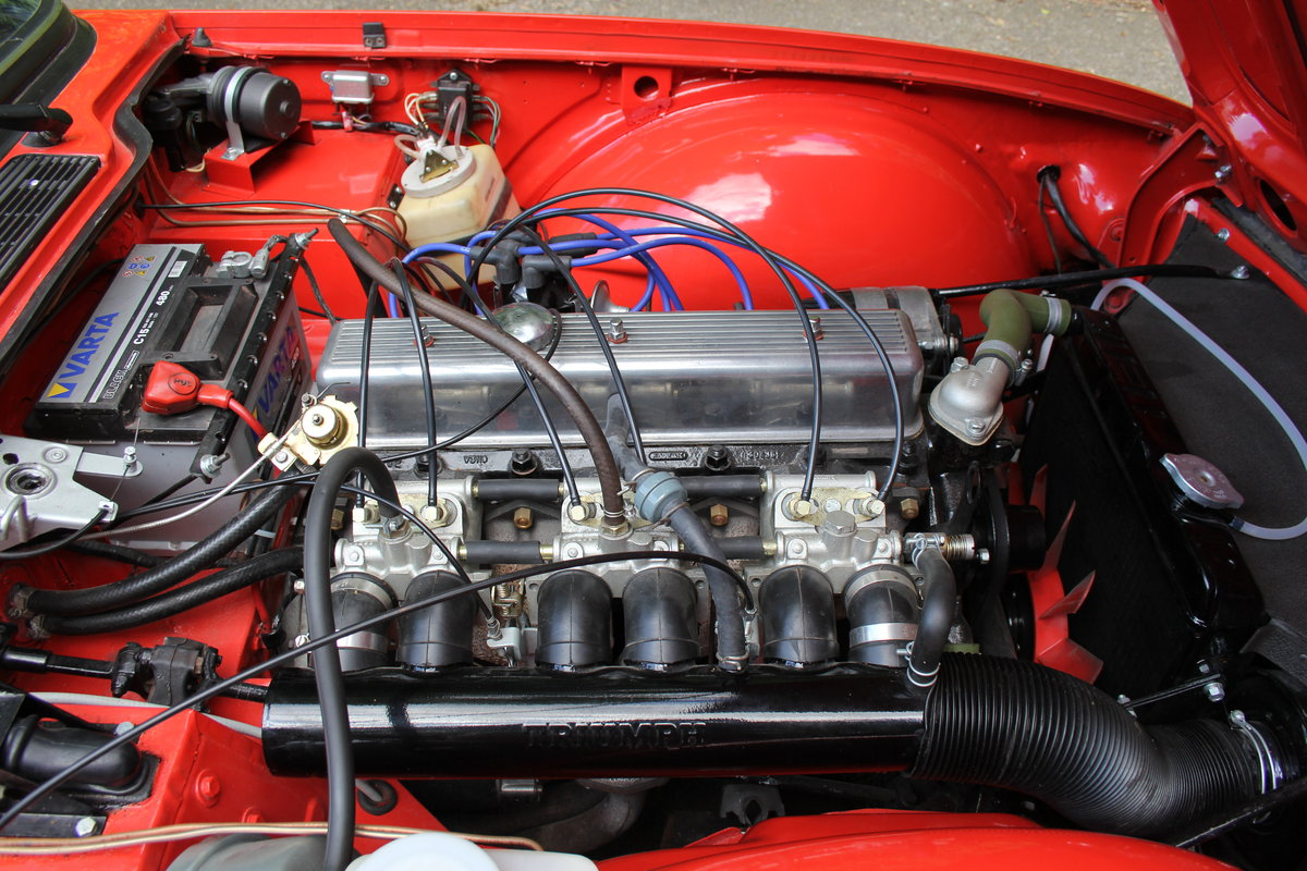 1974 Triumph TR6 PI - UK car, Overdrive, Engine rebuild For Sale (picture 14 of 19)