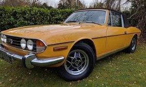 Triumph Stag 3.0l V8 Inca Yellow - Manual For Sale