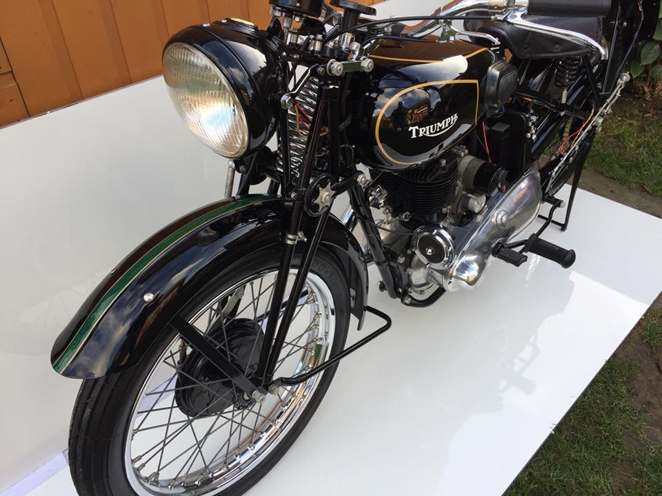 1939 Triumph 3s pre war classic Museum quality  For Sale (picture 5 of 6)