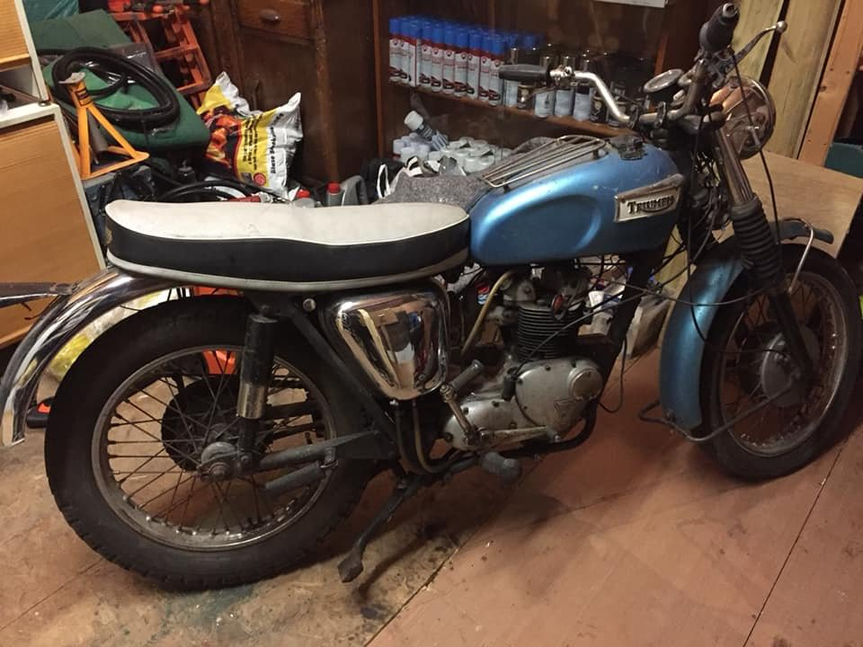 1968 TRIUMPH T90 TIGER - ONE OF THE BEST IN UK For Sale (picture 1 of 6)