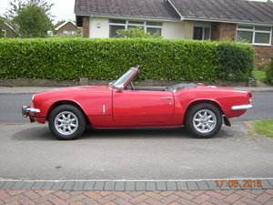 Triumph Spitfire MK3 with overdrive Beautifully re For Sale