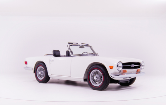 1968 TRIUMPH TR6, the second oldest known surviving example For Sale (picture 1 of 6)