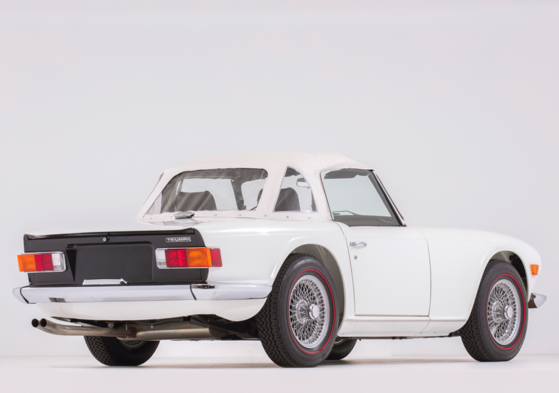 1968 TRIUMPH TR6, the second oldest known surviving example For Sale (picture 3 of 6)