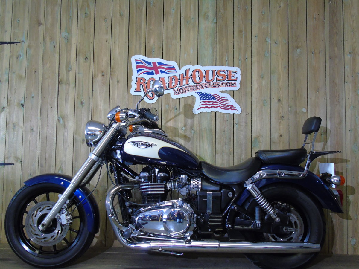 2011 Triumph Bonneville America Only 1100 Miles Service History For Sale (picture 2 of 6)