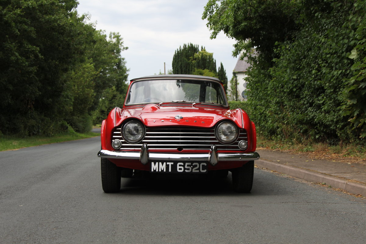 1965 Triumph TR 4 - UK car, O/D, Performance engine  SOLD (picture 2 of 20)