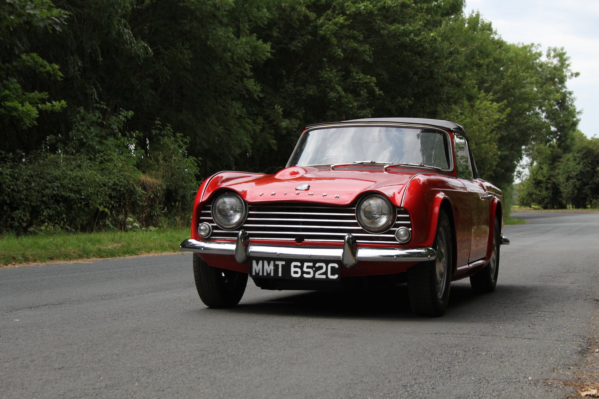 1965 Triumph TR 4 - UK car, O/D, Performance engine  SOLD (picture 3 of 20)