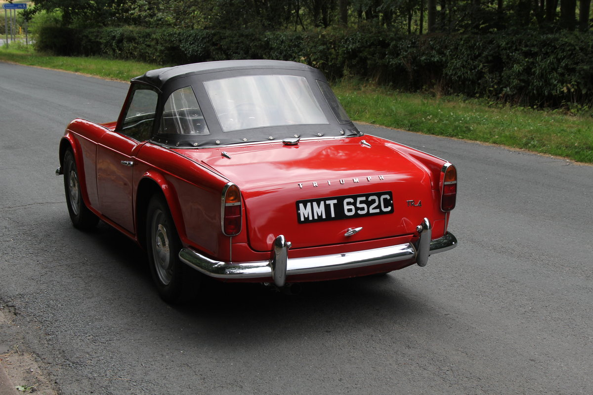 1965 Triumph TR 4 - UK car, O/D, Performance engine  SOLD (picture 4 of 20)