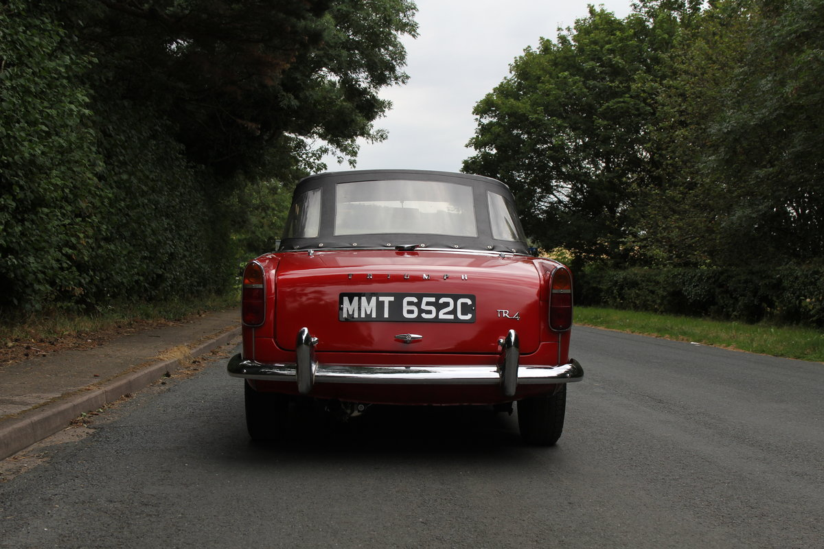 1965 Triumph TR 4 - UK car, O/D, Performance engine  SOLD (picture 5 of 20)