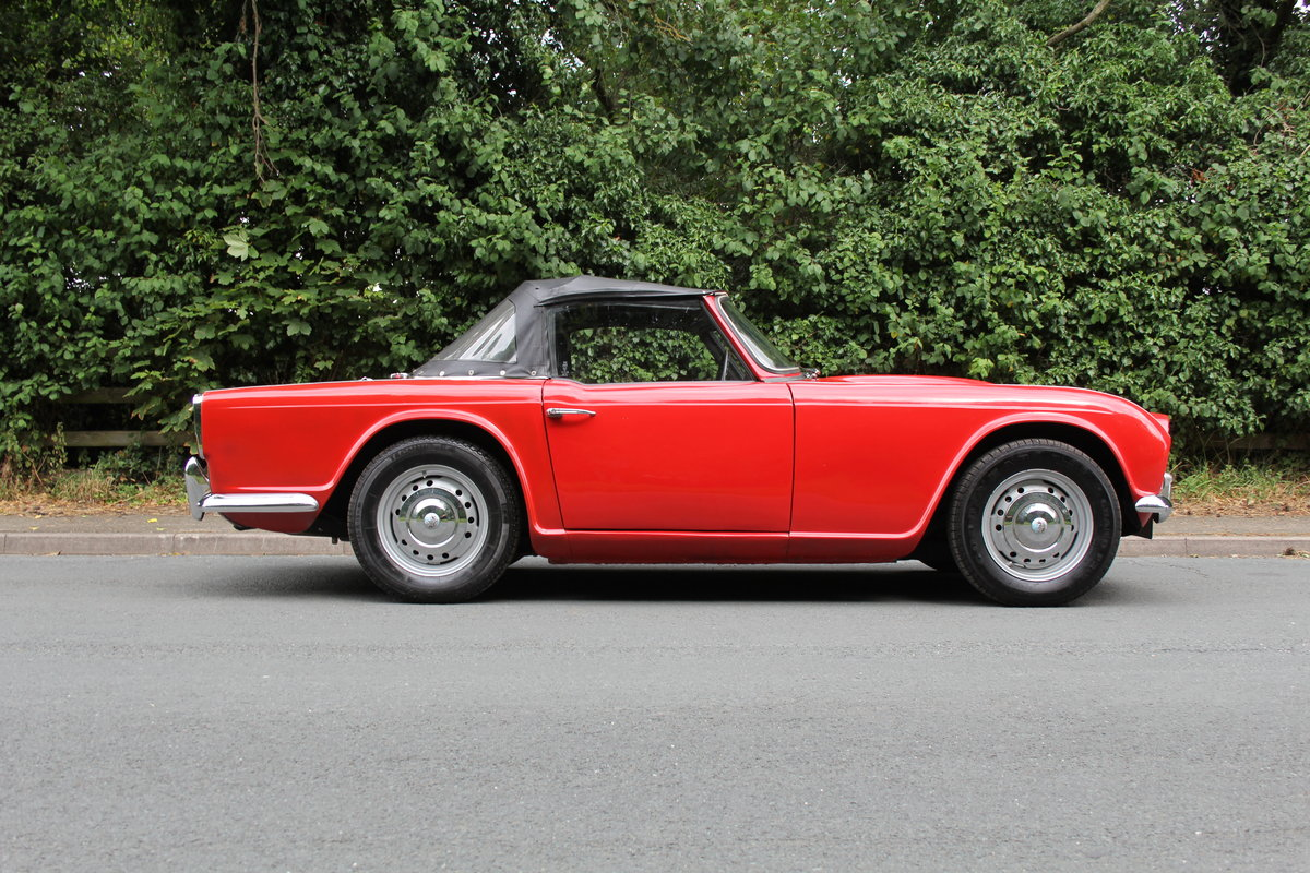 1965 Triumph TR 4 - UK car, O/D, Performance engine  SOLD (picture 7 of 20)