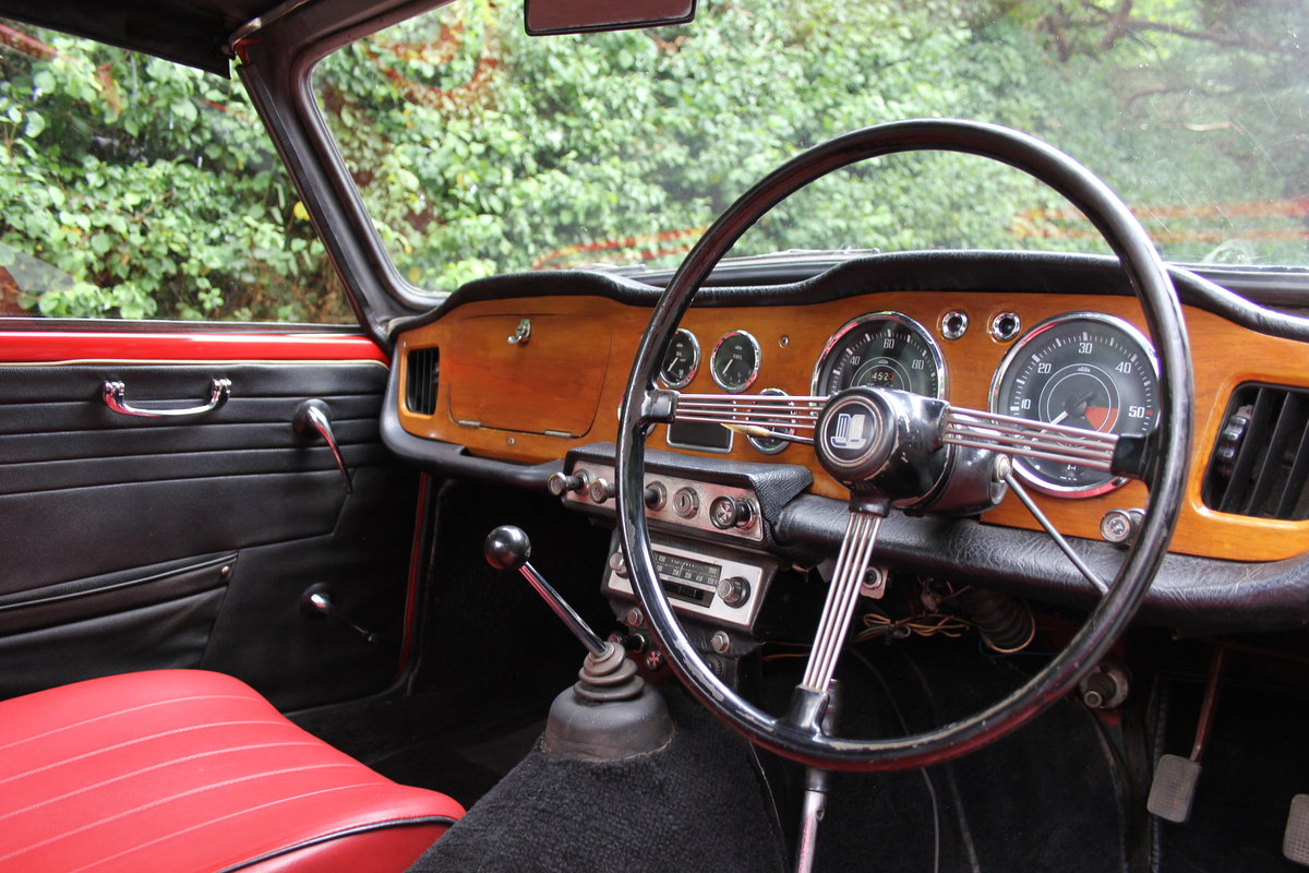 1965 Triumph TR 4 - UK car, O/D, Performance engine  SOLD (picture 8 of 20)