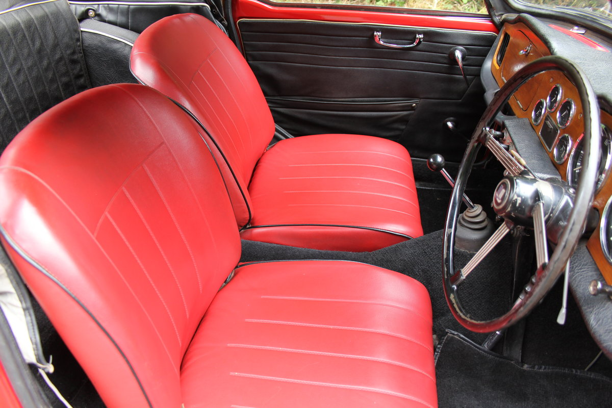 1965 Triumph TR 4 - UK car, O/D, Performance engine  SOLD (picture 10 of 20)