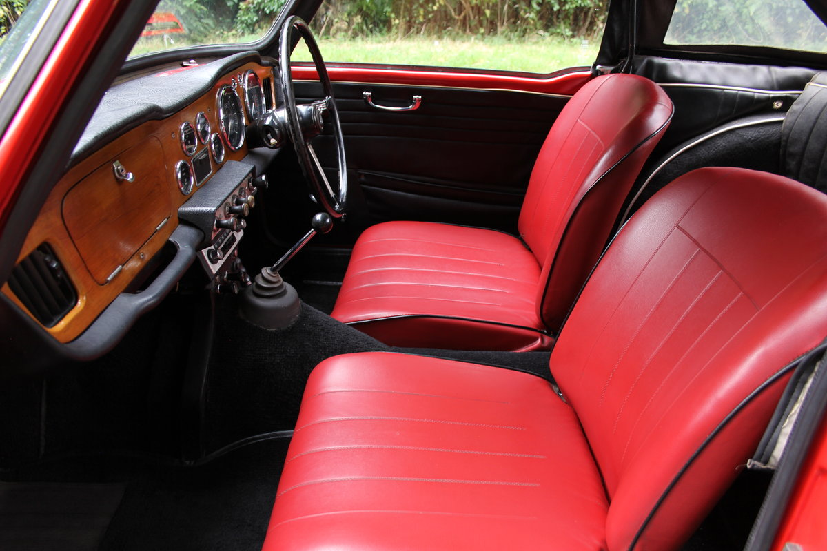1965 Triumph TR 4 - UK car, O/D, Performance engine  SOLD (picture 12 of 20)