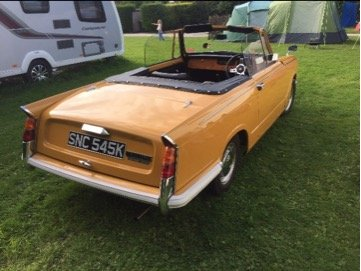 Triumph Herald 13/60 Convertible SOLD