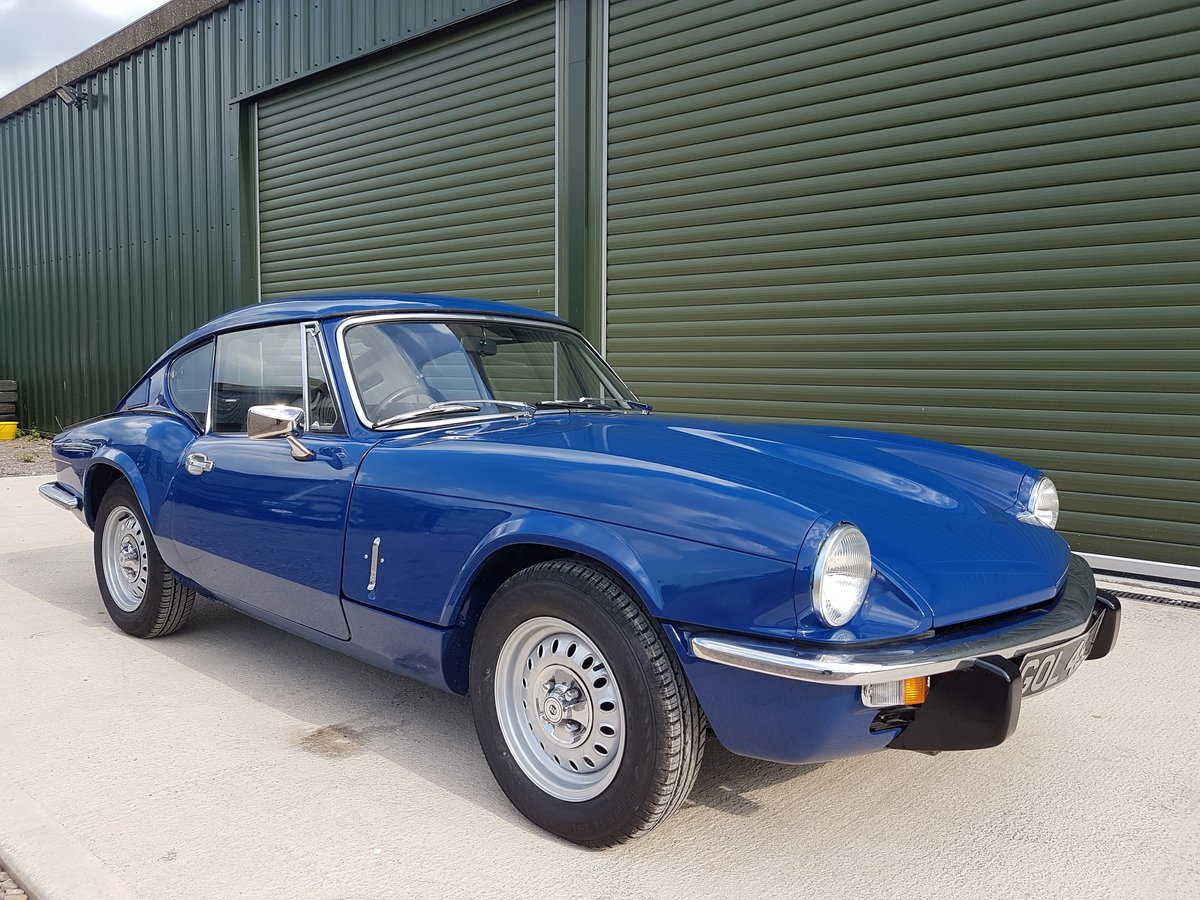 1972 Triumph GT6 MKIII - Beautifully Restored / Low mileage SOLD (picture 1 of 6)