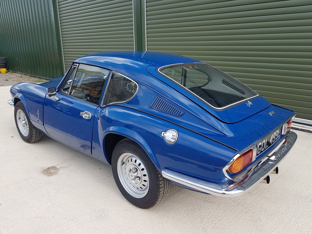 1972 Triumph GT6 MKIII - Beautifully Restored / Low mileage SOLD (picture 6 of 6)