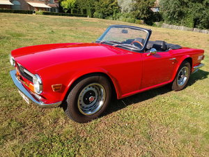 1971 Triumph TR6 LHD   For Sale