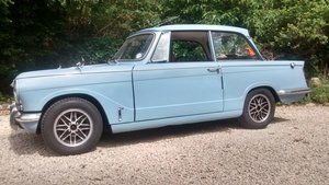1966 Triumph Vitesse mk 1 saloon reduced must sell !!! SOLD