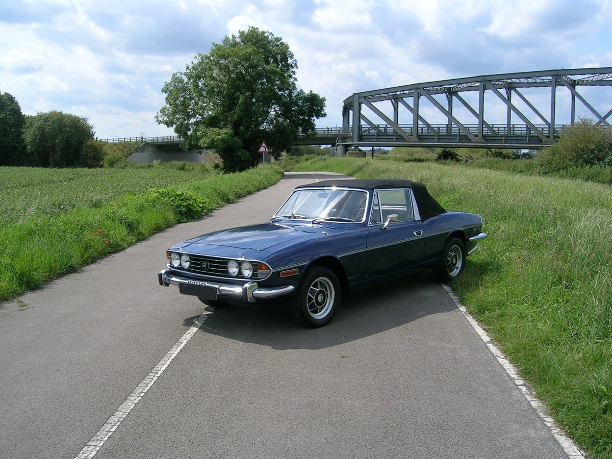 1972 Triumph Stag Manual Historic Vehicle For Sale (picture 1 of 6)