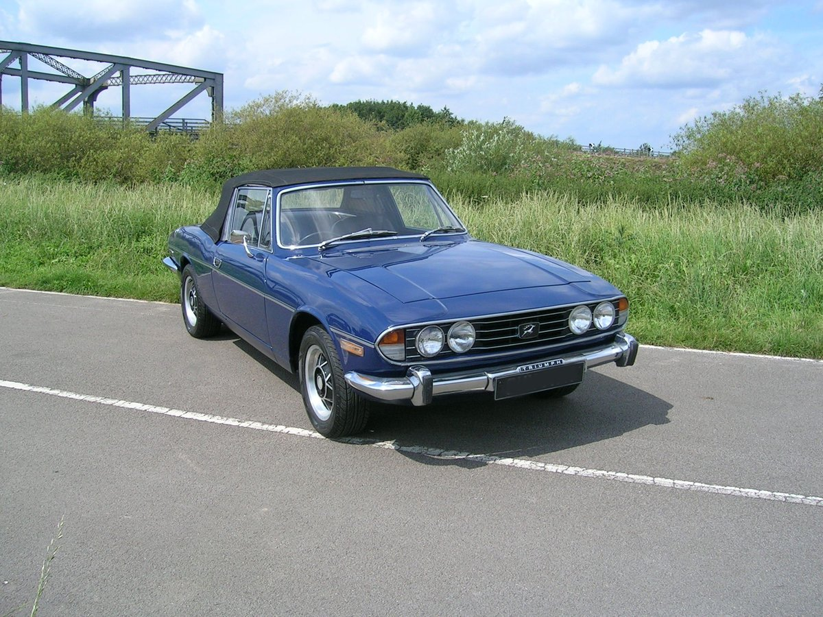 1972 Triumph Stag Manual Historic Vehicle For Sale (picture 2 of 6)