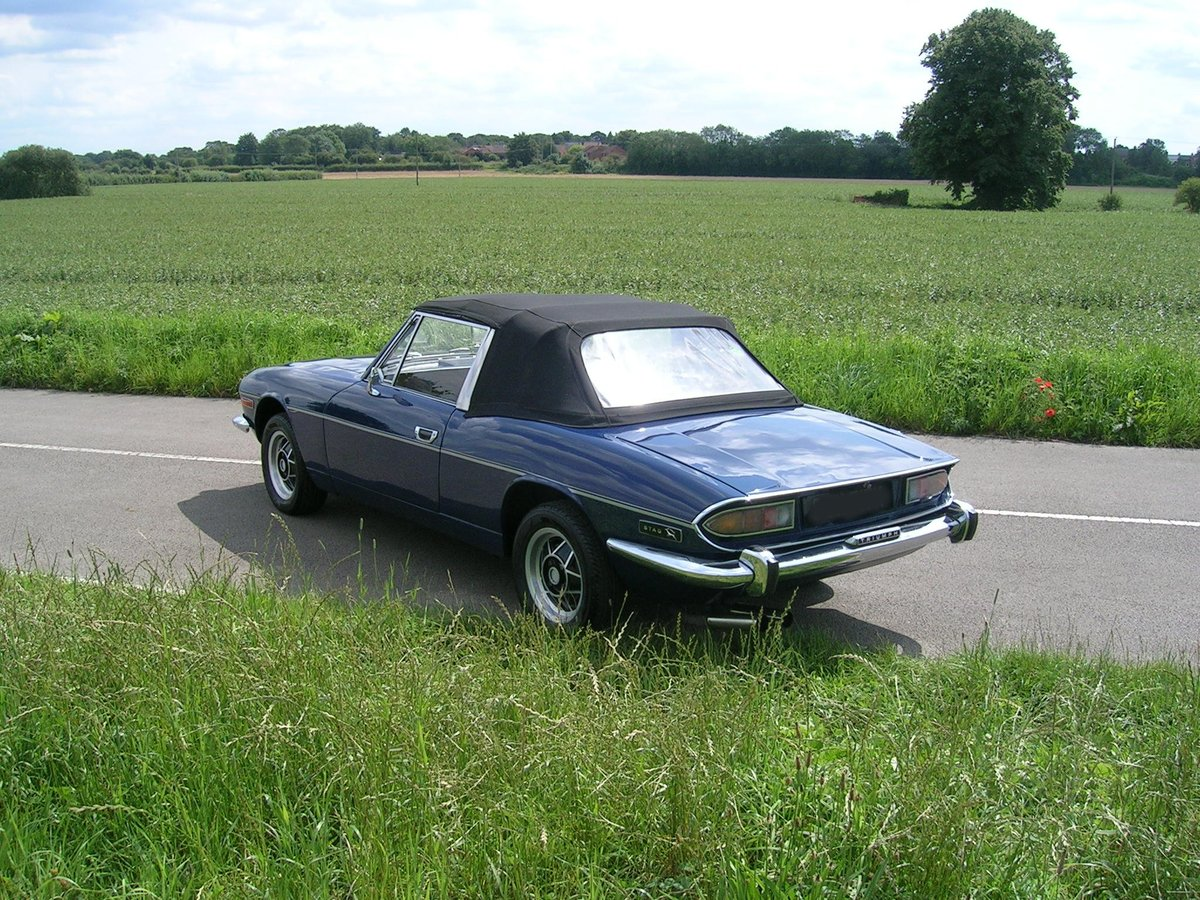 1972 Triumph Stag Manual Historic Vehicle For Sale (picture 3 of 6)
