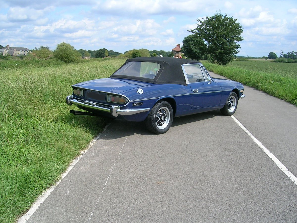 1972 Triumph Stag Manual Historic Vehicle For Sale (picture 4 of 6)