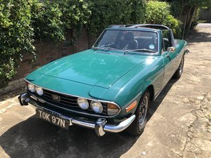 Triumph Stag: 1974 Manual Low Milage Hard Top OD  For Sale