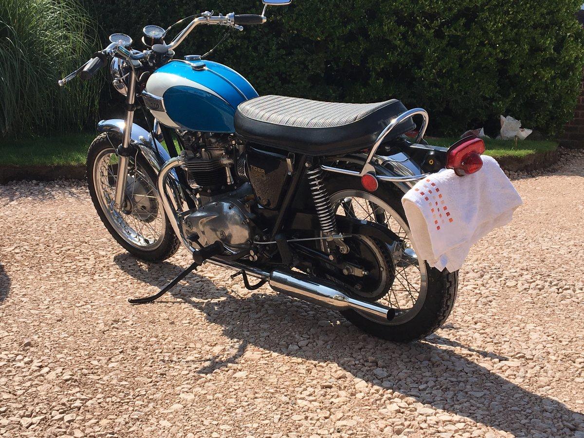 Triumph TR6 656 cc For Sale (picture 1 of 6)