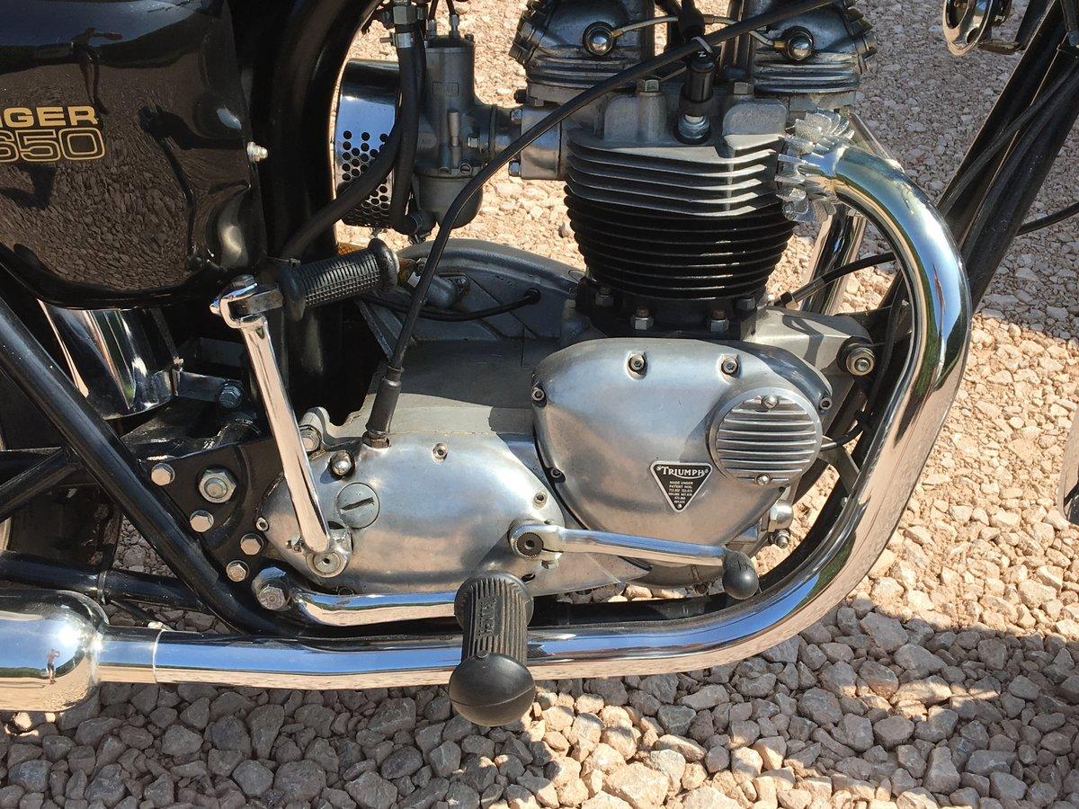 Triumph TR6 656 cc For Sale (picture 5 of 6)
