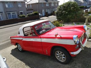 1967 Triumph Herald 1200 convertible  Reg PPK 555E  For Sale