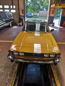 1971 Triumph stag with new engine mk1