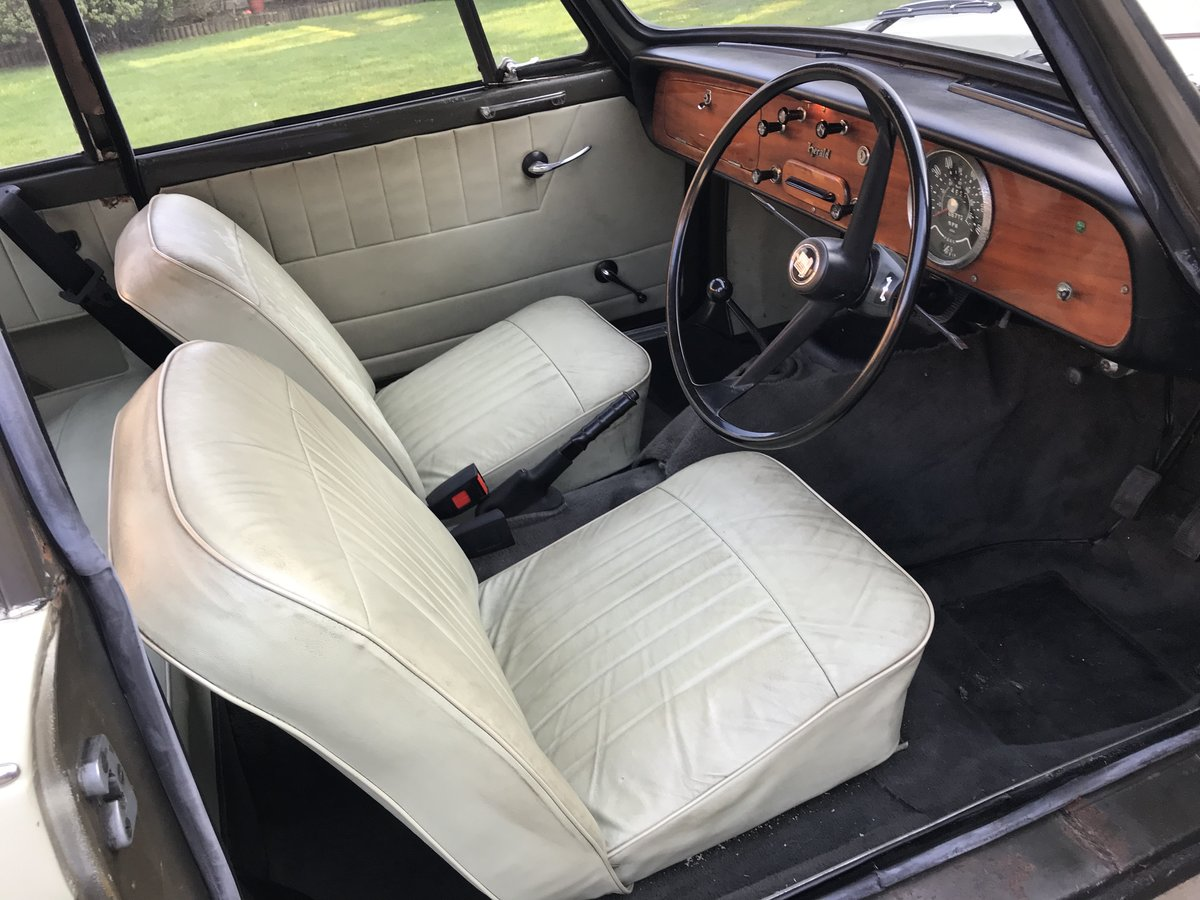 1965 Triumph Herald 1200. One Family Owner. For Sale (picture 2 of 6)