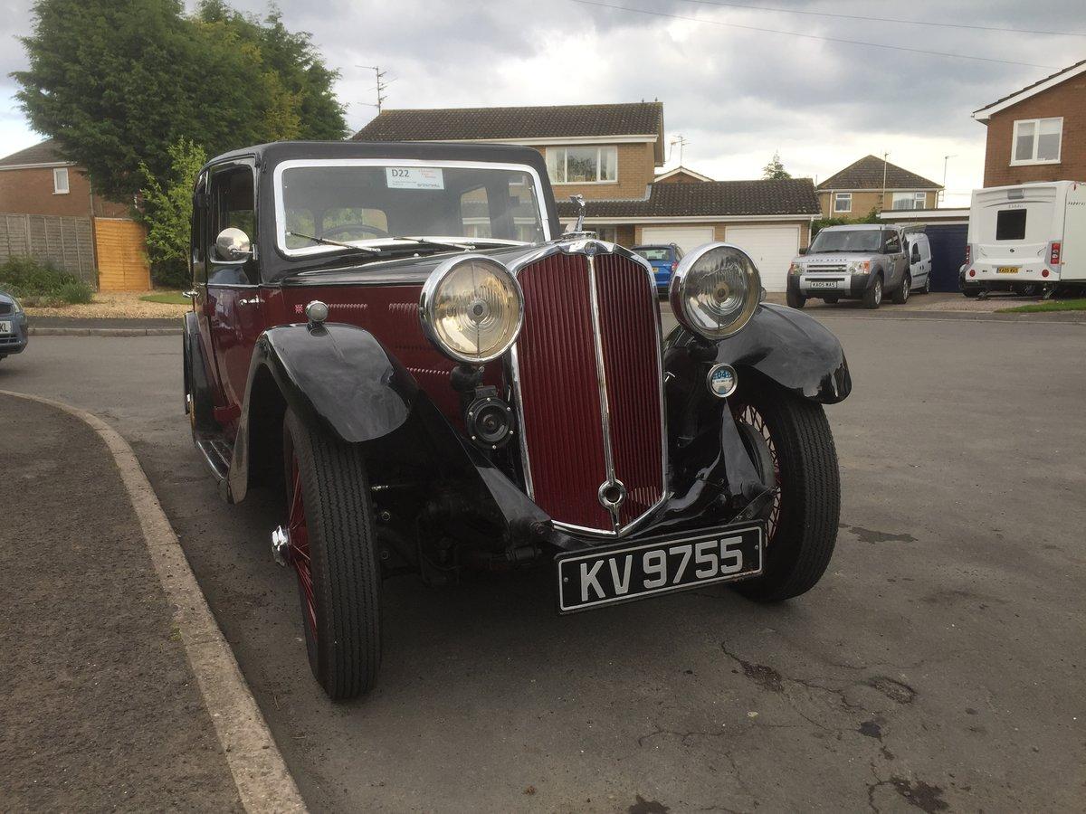 1934 Triumph Gloria -Very Rare Early Model  For Sale (picture 3 of 6)