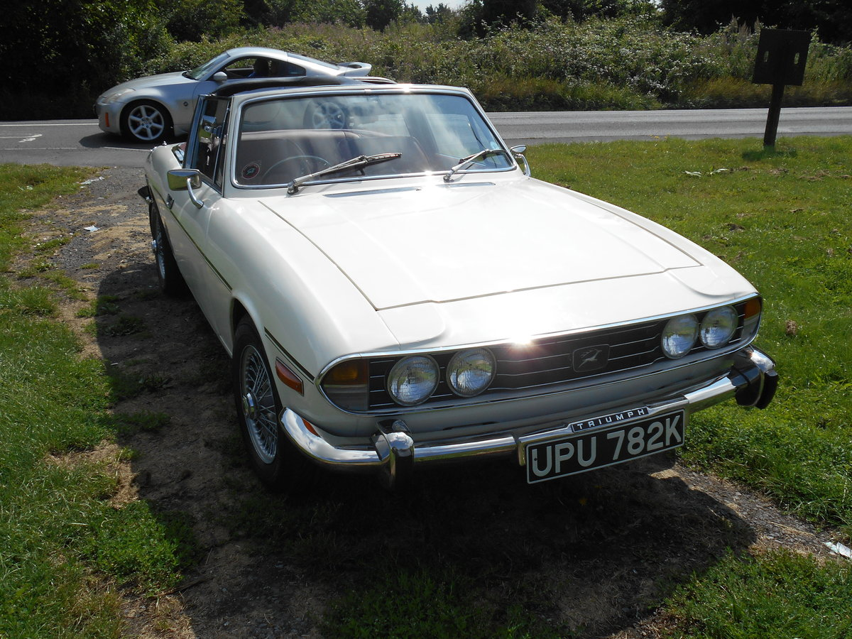 1972 Triumph Stag MK1. Manual with overdrive SOLD (picture 4 of 6)