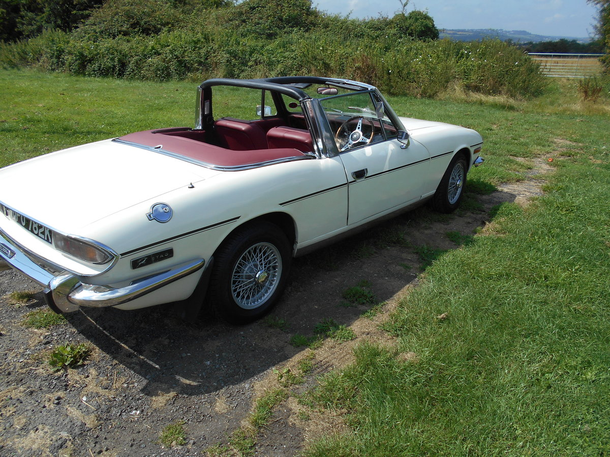 1972 Triumph Stag MK1. Manual with overdrive SOLD (picture 6 of 6)