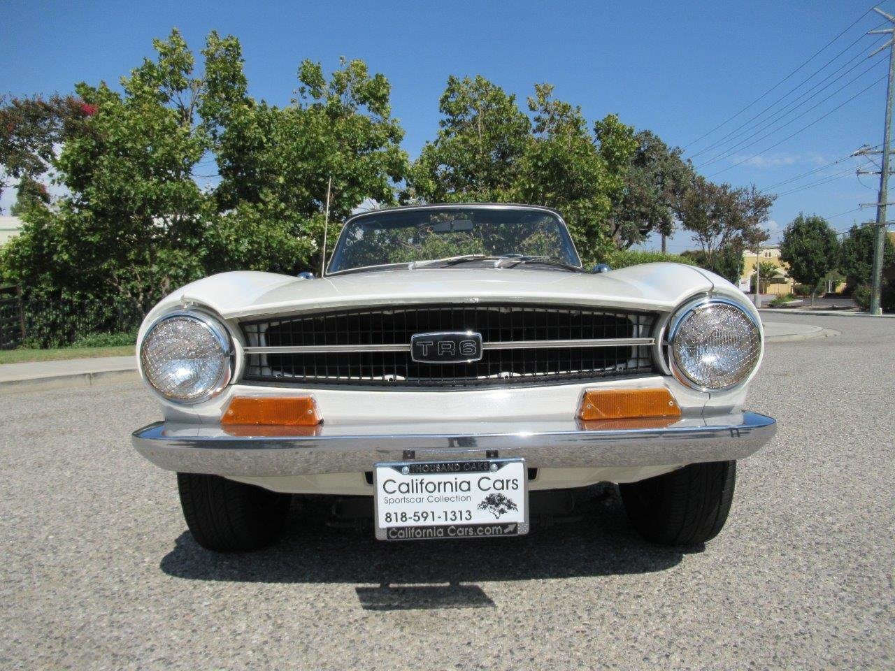 1971 TRIUMPH TR6 For Sale (picture 3 of 6)