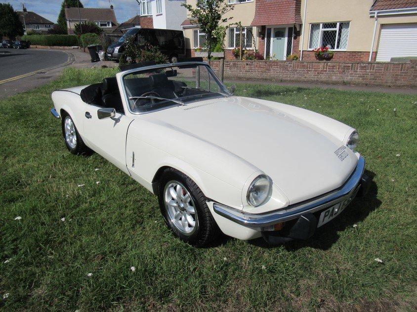 1981 Triumph Spitfie 1500  For Sale (picture 1 of 1)