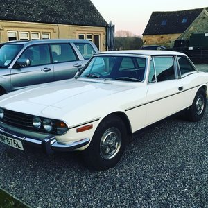 1973 Triumph Stag One previous owner!