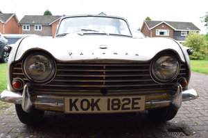 1967 Triumph TR4 A IRS - totally original SOLD