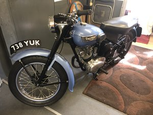 1955 Triumph Tiger Cub (rare model) For Sale