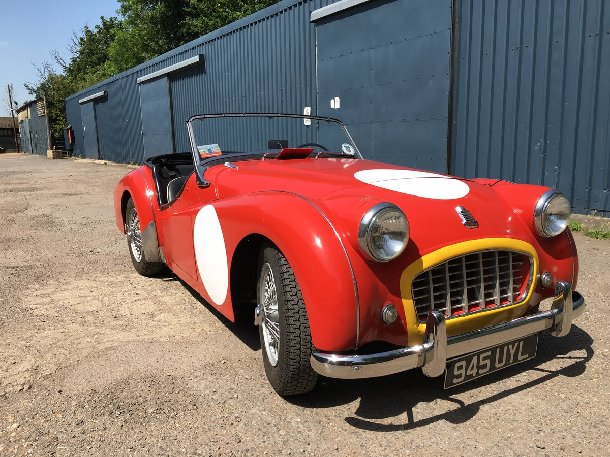 1956 Triumph TR3 (small mouth) For Sale (picture 2 of 6)