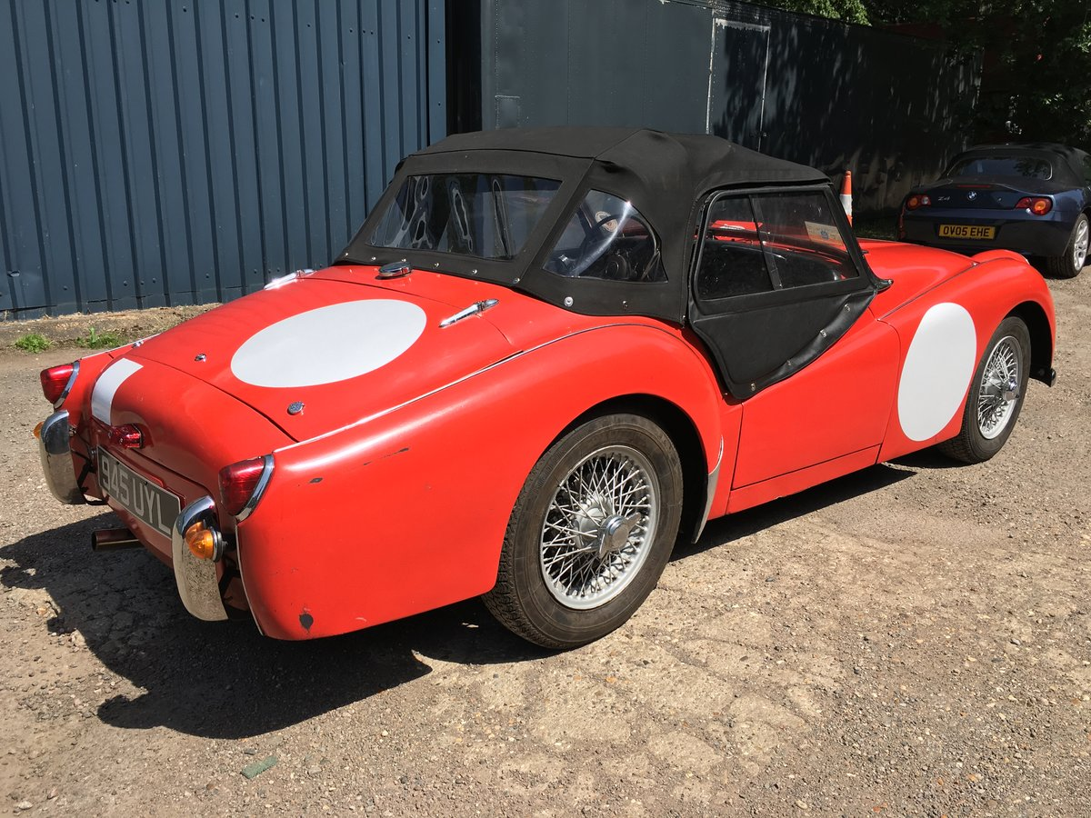 1956 Triumph TR3 (small mouth) For Sale (picture 3 of 6)