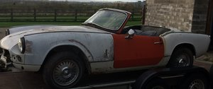 1965 Triumph Spitfire MkII circa LHD solid project For Sale