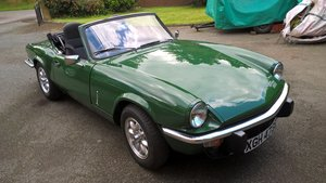 1977 Triumph Spitfire 1500 For Sale