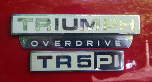 1968 Triumph TR5 P.I.   RHD Very original  For Sale